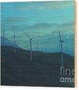 The Promise Of Wind  Wood Print
