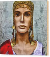 The Queen Of Bourbon Street Wood Print by Bill Cannon
