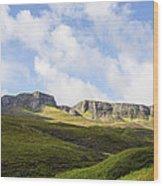 The Quiraing Wood Print