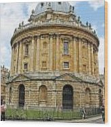 The Radcliffe Camera Wood Print