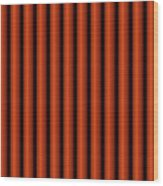 The Red Curtain Wood Print