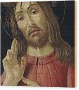 The Resurrected Christ Wood Print
