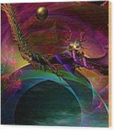 The Return ....of Draconem... Wood Print
