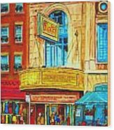 The Rialto Theatre Wood Print