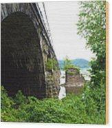 the river in Pennsylvania Wood Print