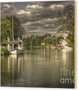 The River Thames At Streatley Wood Print