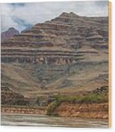 The Riverbend-grand Canyon Perspective Wood Print