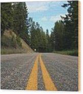 The Road Wood Print