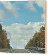 The Road To Heaven Wood Print