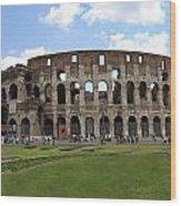 The Rome Coliseum Wood Print