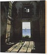 The Ruin Of A Slave Warehouse Dating Wood Print