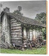 The Rural Life Wood Print