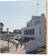 The Sala Burton Building . Maritime Museum . San Francisco California . 7d13993 Wood Print