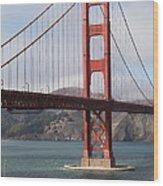 The San Francisco Golden Gate Bridge - 5d18911 Wood Print