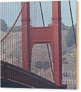 The San Francisco Golden Gate Bridge - 7d19057 Wood Print