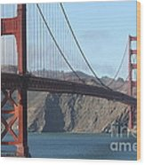The San Francisco Golden Gate Bridge - 7d19184 Wood Print