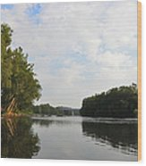 The Schuylkill River At West Conshohocken Wood Print