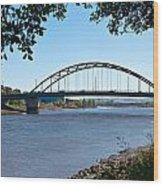 The Scotswood Bridge Wood Print