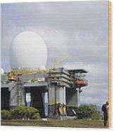 The Sea Based X-band Radar, Ford Wood Print