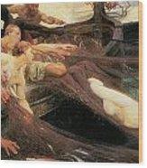 The Sea Maiden Wood Print