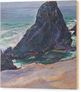 The Seal Rock March Wood Print