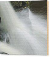 The Second Lahuarpia Falls, Lahuarpia Wood Print by Nigel Hicks