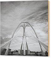 The Seri Wawasan Bridge In Purajaya In Malaysia Wood Print