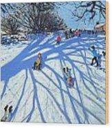 The Shadow Derbyshire Wood Print