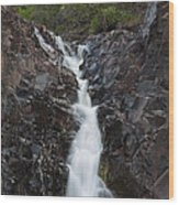 The Shallows Waterfall 5 Wood Print