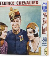 The Smiling Lieutenant, From Left Wood Print by Everett