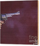 The Smoking Gun Wood Print