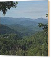 The Smoky Mountains Wood Print