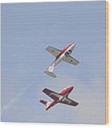 The Snowbirds 431 Air Demonstration Wood Print
