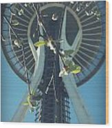 The Space Needle Wood Print