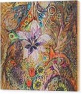 The Spirit Of Garden Wood Print