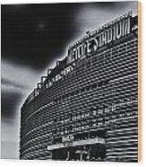 The Stadium Wood Print