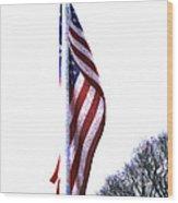 The Star Spangled Banner Wood Print