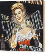 The Stork Club, Don Defore, Betty Wood Print by Everett