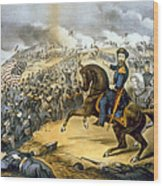 The Storming Of Fort Donelson, February Wood Print