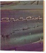 The Strat Wood Print
