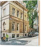 The Streets Of London Wood Print