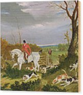 The Suffolk Hunt - Going To Cover Near Herringswell Wood Print