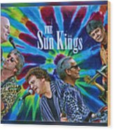 The Sun Kings Wood Print