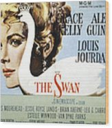 The Swan, Grace Kelly, 1956 Wood Print