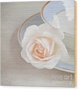 The Sweetest Rose Wood Print