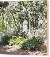 The Swing Garden Wood Print