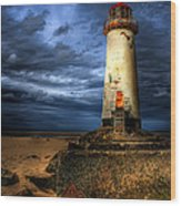 The Talacre Lighthouse Wood Print