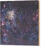 The Tarantula Nebula Wood Print