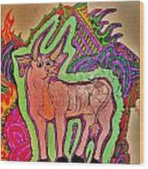 The Taurus Wood Print