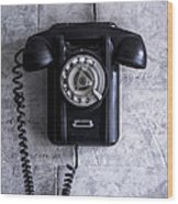 The Telephone. Wood Print